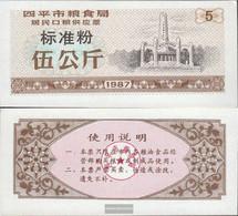 People's Republic Of China Brown C ChinesisCher MehlgutsChein Uncirculated 1987 5 Jin - China