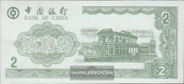 People's Republic Of China Green Trainingsbanknote Bank Of China Uncirculated 2 Jin - China