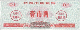 People's Republic Of China Red C ChinesisCher ReisgutsChein Uncirculated 1983 0,1 Jin - China