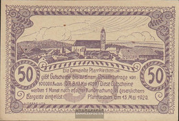 Pfarrkirchen Notgeld The Community Pfarrkirchen Uncirculated 1920 50 Bright Purple - Austria