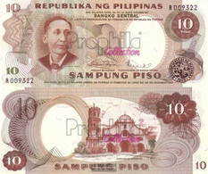 Philippines Pick-number: 144b Uncirculated 1969 10 Piso - Philippines