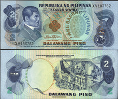 Philippines Pick-number: 159b Uncirculated 1978 2 Piso - Philippines