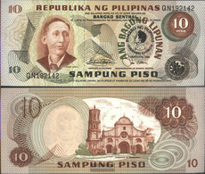 Philippines Pick-number: 167a Uncirculated 1981 10 Piso - Philippines