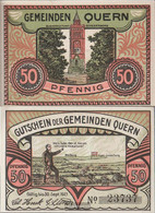 Quern Notgeld: 1091.1a) 2. My Son Notgeld The Quern Uncirculated 1921 50 Pfennig Quern - [11] Local Banknote Issues