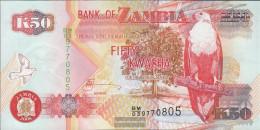 Sambia Pick-number: 37g Uncirculated 2008 50 Kwacha - Zambia