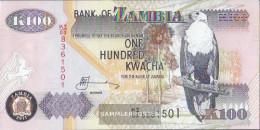 Sambia Pick-number: 38j Uncirculated 2011 100 Kwacha - Zambia