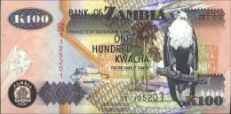 Sambia Pick-number: 38f Uncirculated 2006 100 Kwacha Eagles - Zambia