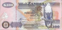 Sambia Pick-number: 38g Uncirculated 2008 100 Kwacha - Zambia