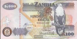 Sambia Pick-number: 38h Uncirculated 2009 100 Kwacha - Zambia