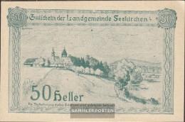 Seekirchen Notgeld The Community Seekirchen Uncirculated 1920 50 Bright - Austria