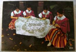 MADEIRA – BRODEUSES – VIAGGIATA 1988 – (1511) - Cartoline