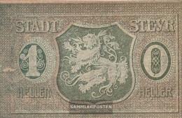 Steyr Notgeld The City Steyr Uncirculated 1921 10 Bright - Austria