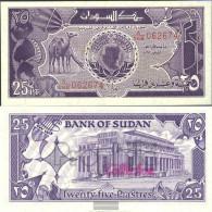 Sudan Pick-number: 37 Uncirculated 1987 25 Piastres Camels - Soudan