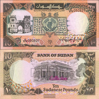 Sudan Pick-number: 46 Uncirculated 1991 10 Pounds - Sudan