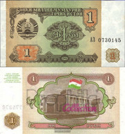 Tajikistan Pick-number: 1a Uncirculated 1994 1 Rubel - Tayikistán