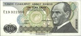 Turkey Pick-number: 192 Uncirculated 1970 10 Lira - Turkey