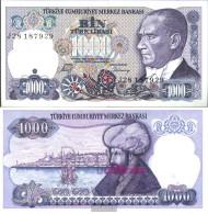 Turkey Pick-number: 196 Uncirculated 1970 1.000 Lira - Turkey