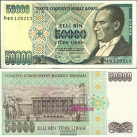 Turkey Pick-number: 204 Uncirculated 1995 50 000 Lira - Turkey