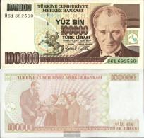 Turkey Pick-number: 206 Uncirculated 1997 100.000 Lira - Turkey