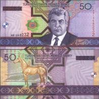 Turkmenistan Pick-number: 17 Uncirculated 2005 50 Manat - Turkménistan