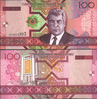 Turkmenistan Pick-number: 18 Uncirculated 2005 100 Manat - Turkmenistan