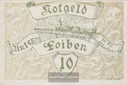 Under-Loiben Notgeld The City Under-Loiben Uncirculated 1920 10 Bright - Austria