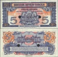 United Kingdom Pick-number: M20d Uncirculated 1948 5 Shillings - …-1952 : Voor Elizabeth II