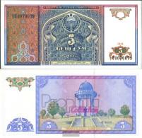 Uzbekistan Pick-number: 75a Uncirculated 1994 5 Sum - Uzbekistan
