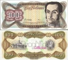 Venezuela Pick-number: 66f Uncirculated 1998 100 Bolivares - Venezuela