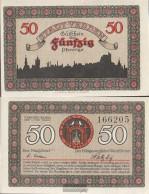 Verden Notgeld: 50 Pf Notgeldschein The City Verden Uncirculated 1921 50 Pfennig Verden - [11] Local Banknote Issues