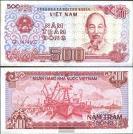 Vietnam Pick-number: 101a Uncirculated 1988 500 Dong - Vietnam
