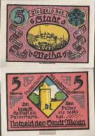 Weida Notgeld: 1391.3 Notgeld The City Weida Uncirculated 1921 5 Pfennig Weida - [11] Local Banknote Issues
