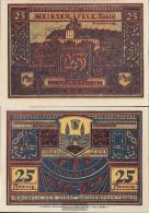 Weissenfels Notgeld: 1403.1 Notgeld The City Weissenfels Uncirculated 1921 25 Pfennig Weissenfels - [11] Local Banknote Issues