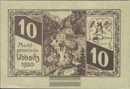 Ybbsitz Notgeld The Community Ybbsitz Uncirculated 1920 10 Bright - Austria