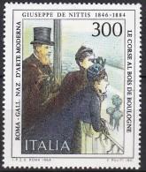 ART - MODIGLIANI  - ITALY  ITALIA ITALIEN ITALIE 1984 MI 1869 MNH Painting GEMÄLDE PAINTURE LE CORSE AL BOIS DE BOULOGNE - Art