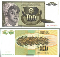 Yugoslavia Pick-number: 108 Uncirculated 1991 100 Dinara - Yugoslavia