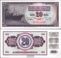 Yugoslavia Pick-number: 85 Uncirculated 1974 20 Dinara - Yugoslavia