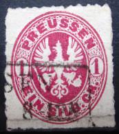 PRUSSE               N° 17               OBLITERE - Prussia
