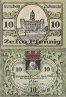 Zeulenroda Notgeld: Notgeld The City Zeulenroda Uncirculated 1920 10 Pfennig Zeulenroda - [11] Local Banknote Issues