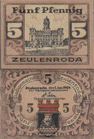 Zeulenroda Notgeld: Notgeld The City Zeulenroda Uncirculated 1920 5 Pfennig Zeulenroda - [11] Local Banknote Issues