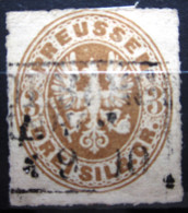 PRUSSE               N° 20               OBLITERE - Prussia