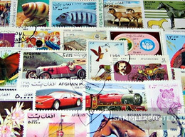Afghanistan 200 Different Stamps - Afghanistan