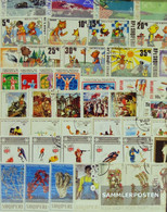 Albania 100 Different Special Stamps  In Complete Expenditure - Albania