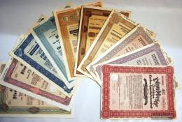 Austria 10 Different Securities Number. 104 - Stamps