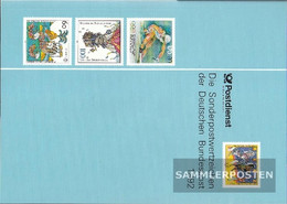 FRD (FR.Germany) 1992 Unmounted Mint / Never Hinged Official Jahrbuch The German Post - Germany