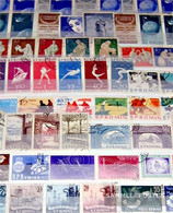 Romania 300 Different  Special Stamps In Complete Expenditure - Jimmy Tousseul