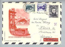 Oesterreich 1950-05-20 Zensur-GS-Brief Nach Zürich - 1945-.... 2. Republik