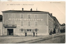 01. Pont De Vaux. Hotel Du Commerce - Pont-de-Vaux