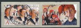 Norvège 2014 N°1810/1811 Oblitérés Luxe Noël - Used Stamps