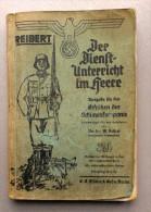 PA3   Der Dienstunterricht Im Heere  Reibert   Jahrgang 1938/39 - 1939-45